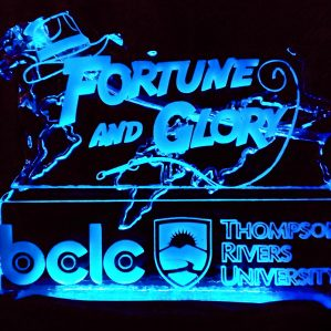 Gala 2018 Fortune and Glory ice sculpture