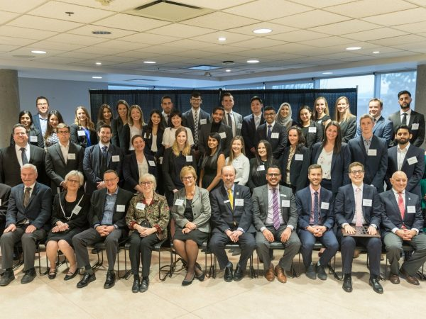 Special moments for students at spring law awards