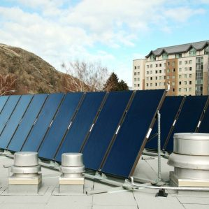 Solar Hot Water Heating at CAC