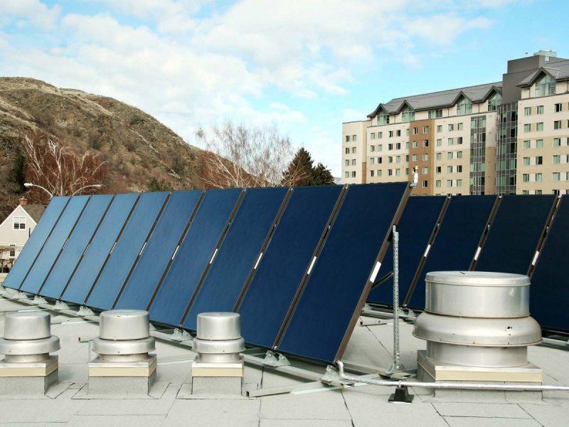 Solar Hot Water Heating at CAC