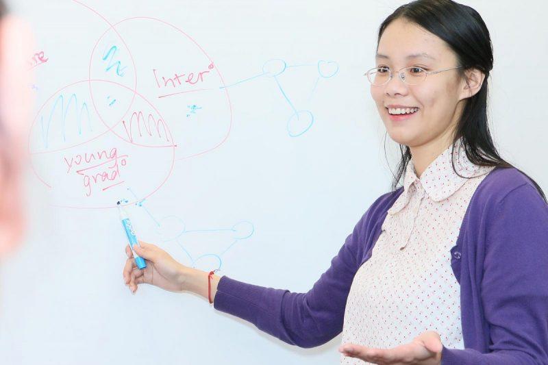 MEd student Vera Wu