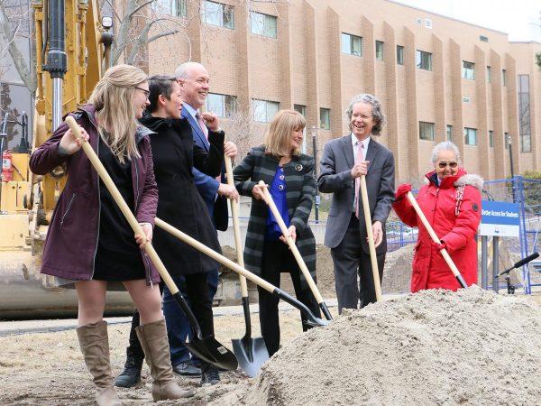 Premier breaks ground on new nursing building