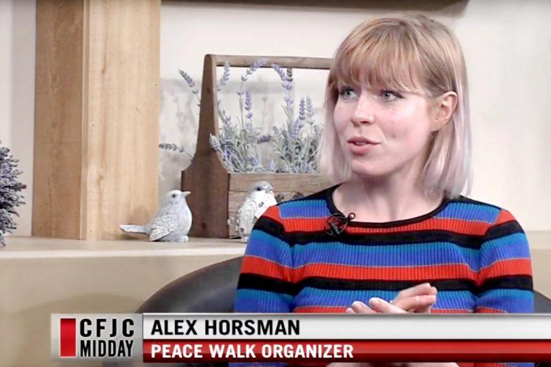 Alex Horsman on Midday