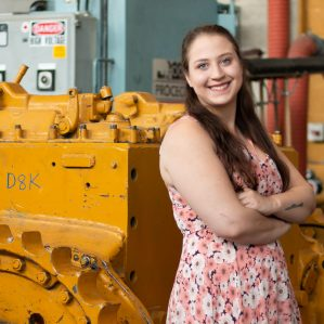 Becca Peters Trades Valedictorian 2018