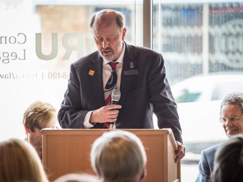 TRU Community Law Clinic Opening