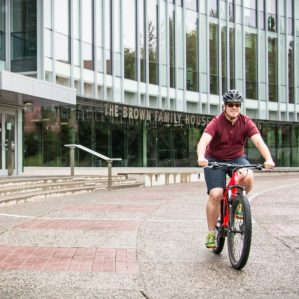 ebike on campus