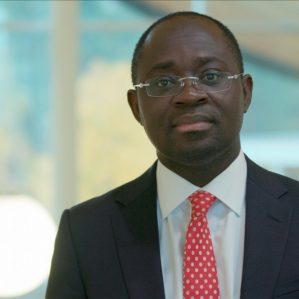 Dr. Richard Oppong, associate professor, Faculty of Law.