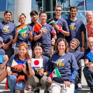 Team TRU World marathon relay teams