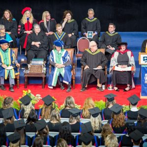 Valedictorian Words of Wisdom at Convocation