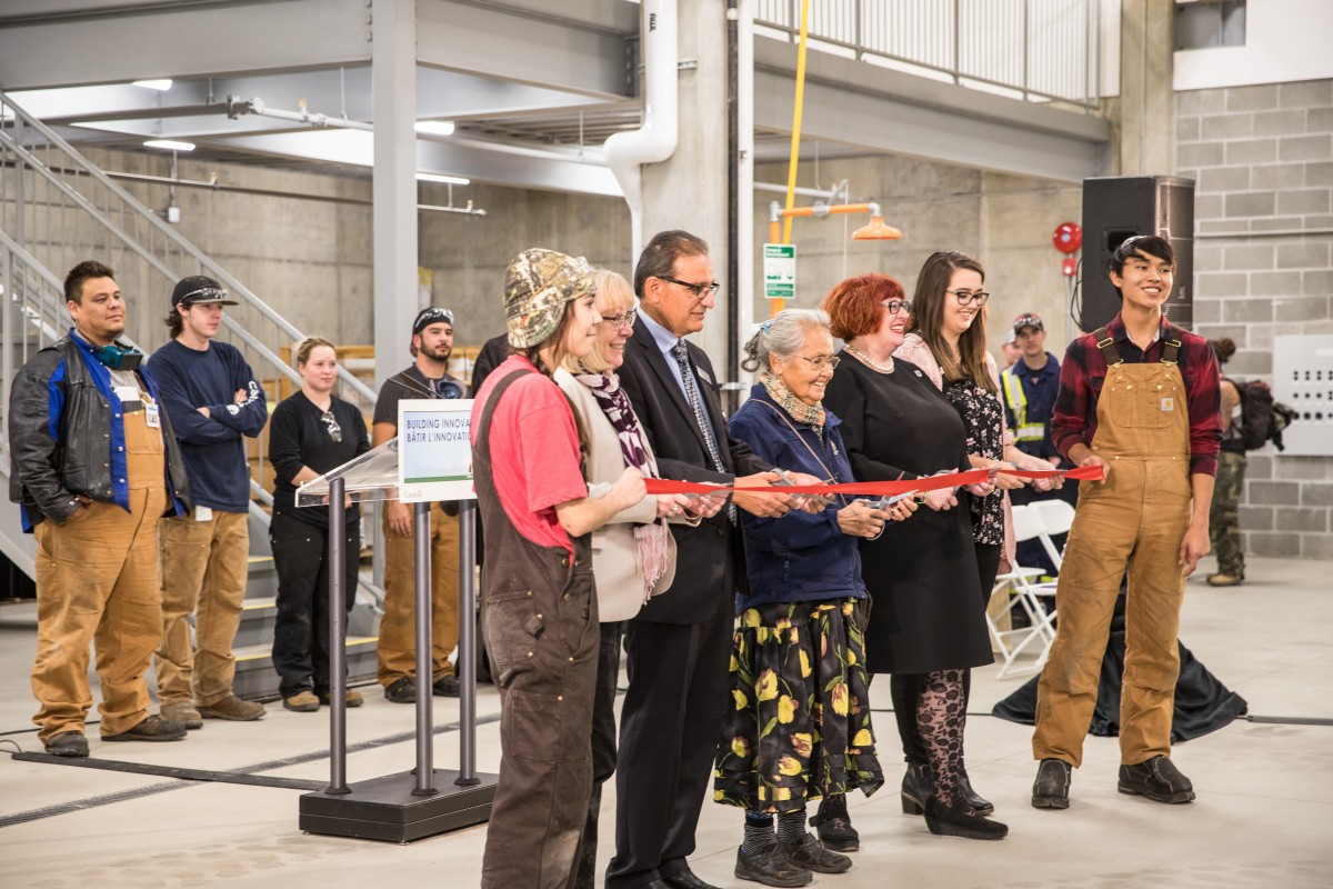 ITTC Building Ribbon Cutting