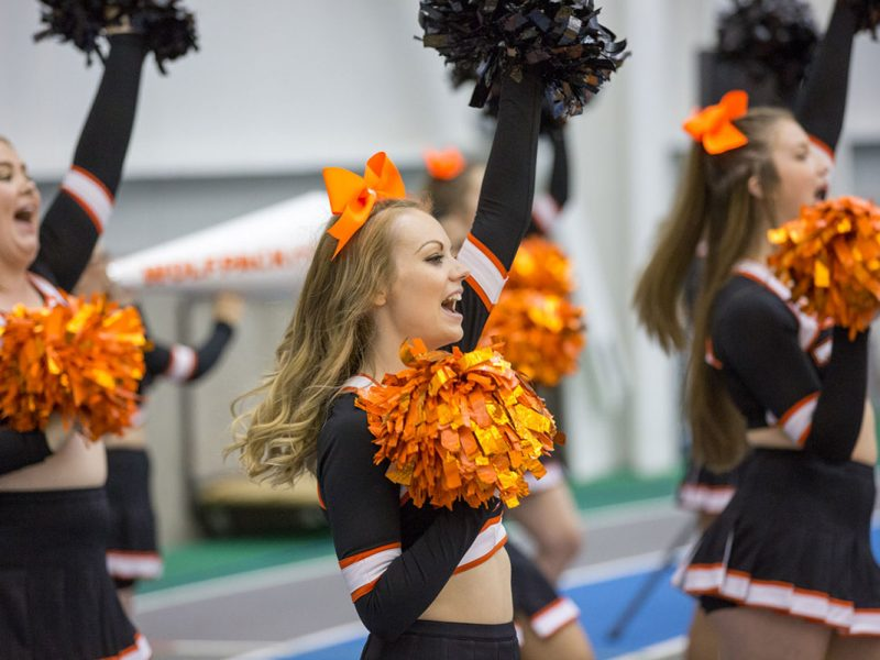 Game night - WolfPack Cheer Squad