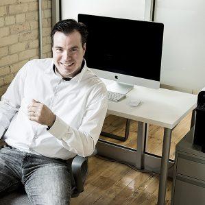 TRU-OL MBA student Shawn Berney