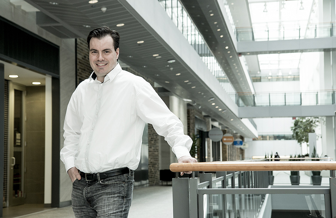 TRU-OL MBA student Shawn Bereny