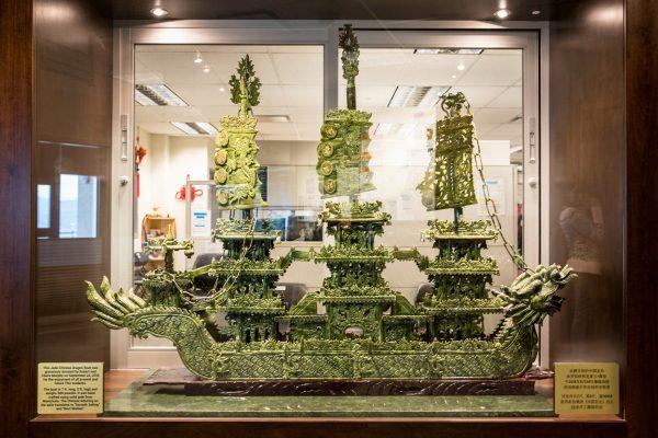 Vancouver Island couple donates jade Chinese dragon boat
