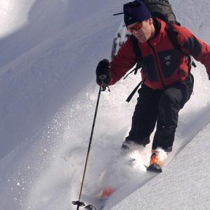 Iain Stewart-Patterson Skiing