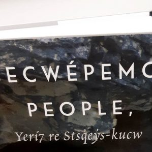 book cropped Secwepemc People Land and Laws