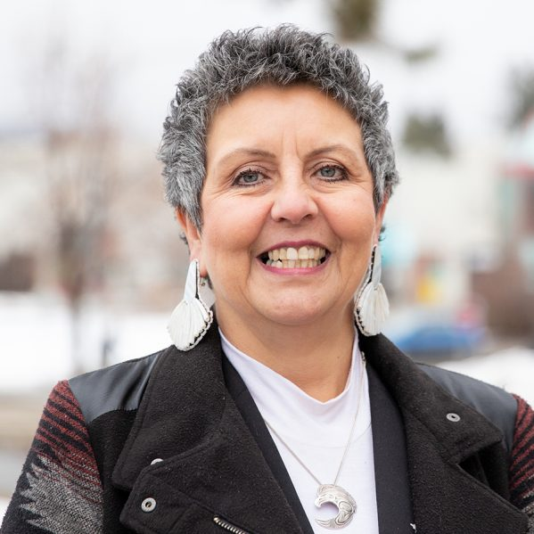 Nursing faculty member Lisa Bourque Bearskin