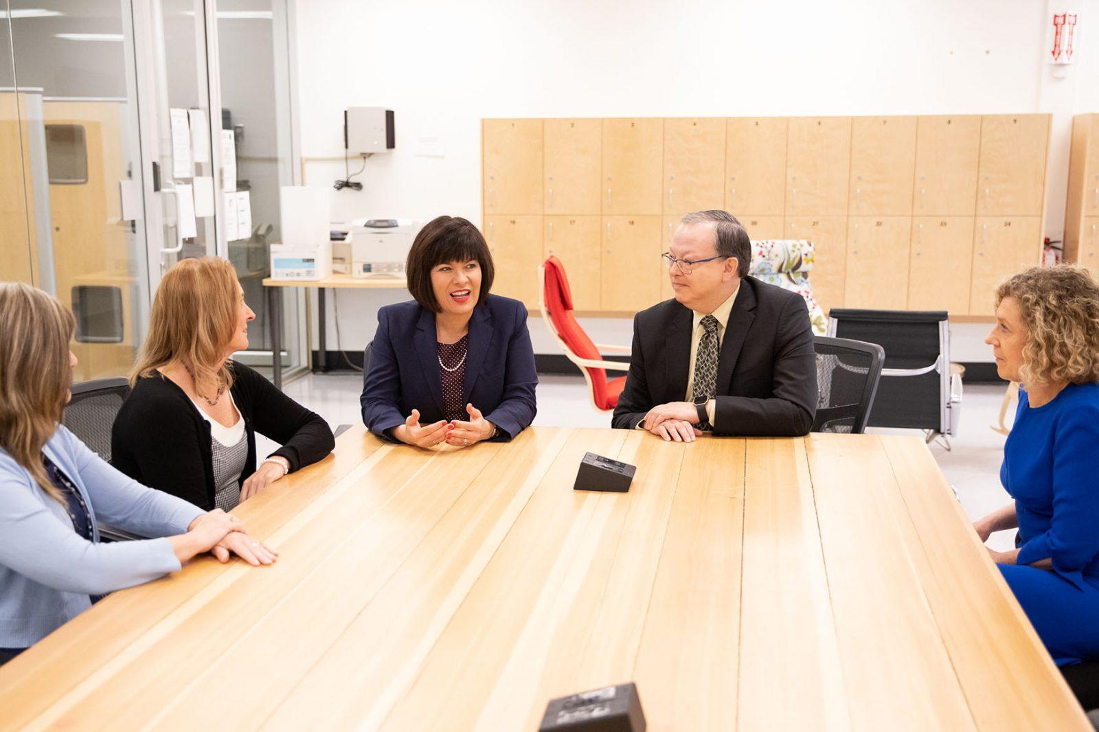 Health minister visit