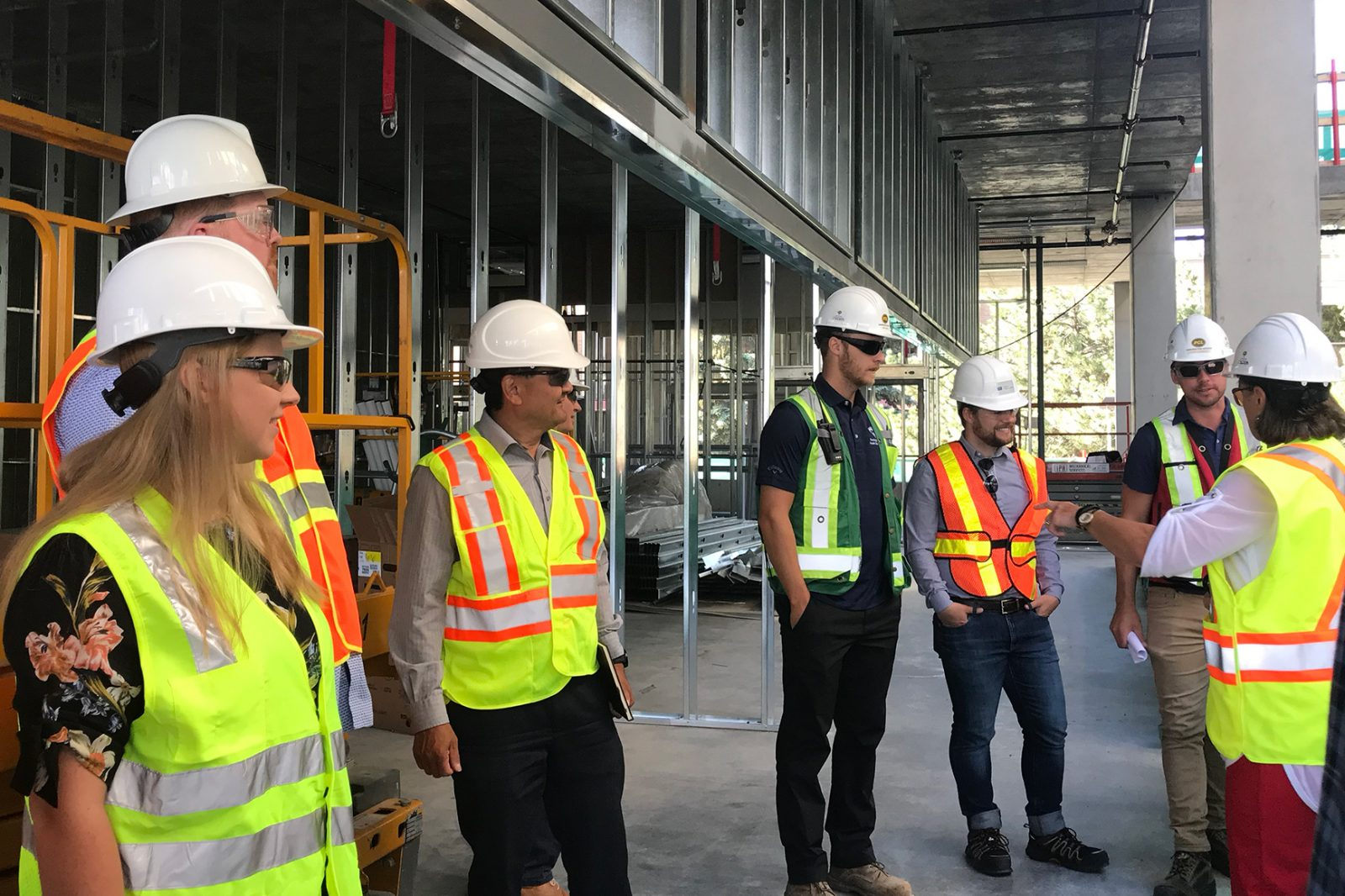 Nursing building tour July 2019
