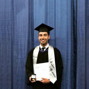2019 Law grad Oliver Verenca