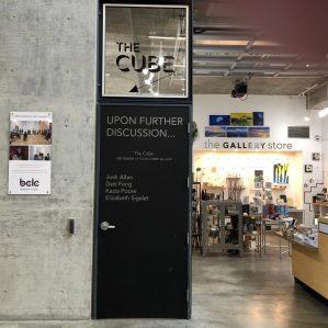 The Cube Gallery at Kamloops Art Gallery