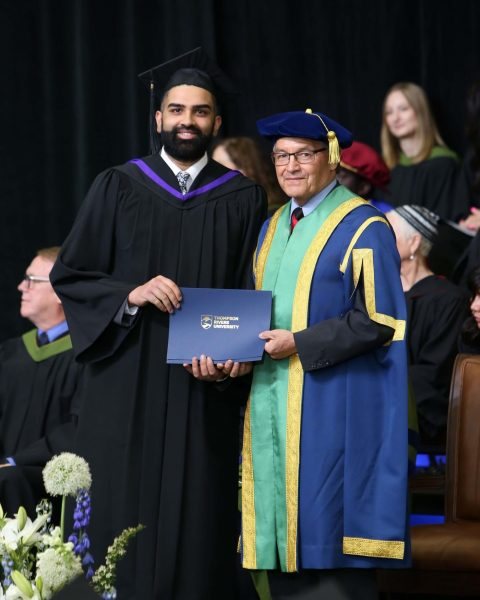 TRU Law grad Harry Chahal