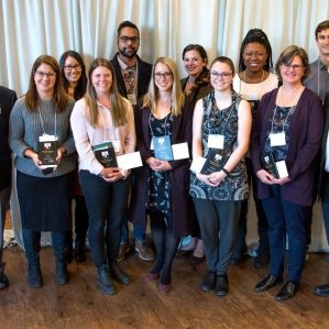 Ken Lepin graduate awards recipients group photo