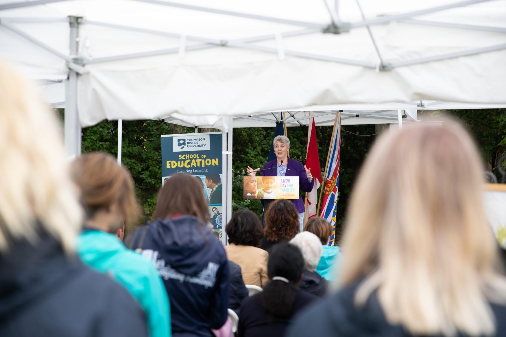 Federal Minister Katrine Conroy