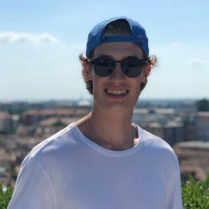 A smiling Ethan Panasiuk