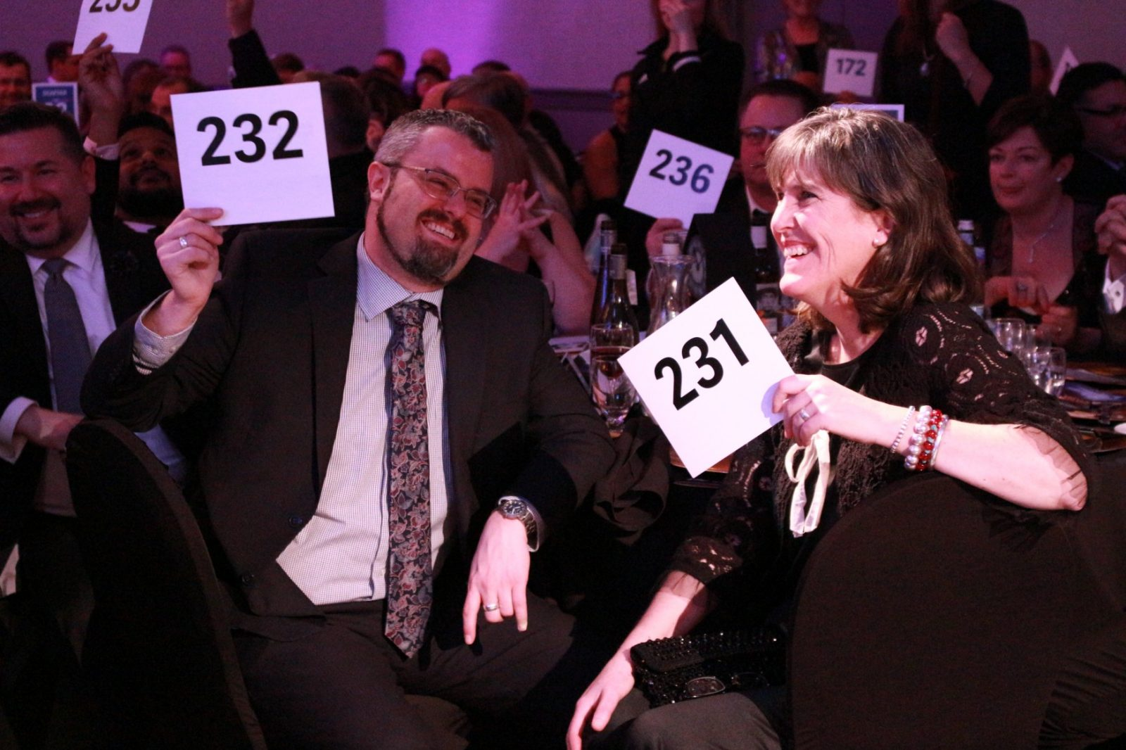 Donors attend 2020 TRU Foundation Gala