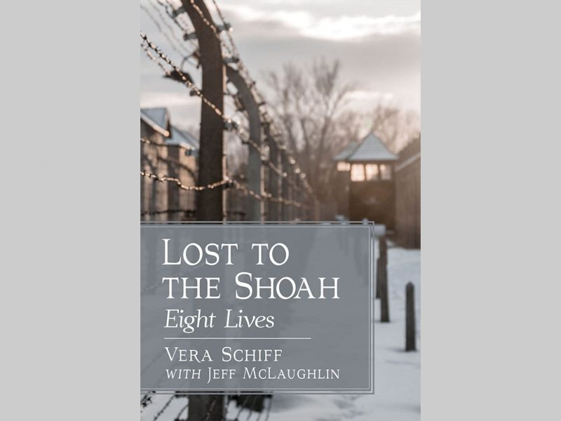 book cover lost in the Shoah