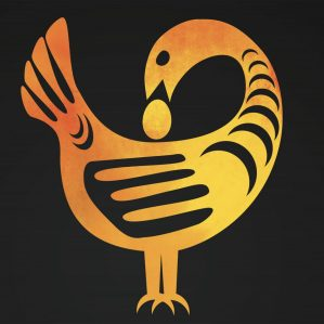 Sankofa bird reflects graphic for Black History Month 2020
