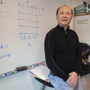 Roger Yu, professor of mathematics and statistics and the director of the Centre for Optimization and Data Science