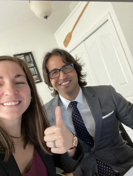 Angela Tenisci and Jesse Patrao