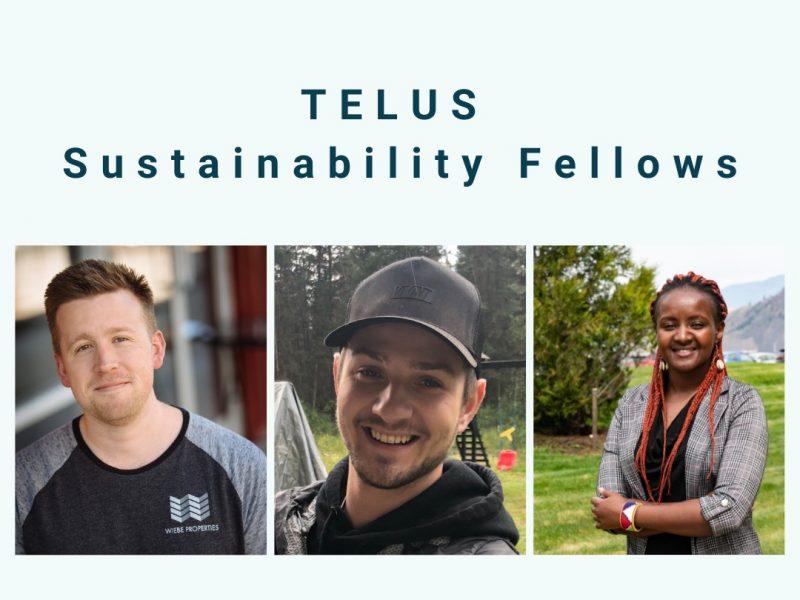 TELUS Sustainability Fellows in TRU Community Carbon Accounting Program 2021